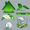 Vector clipart: environmental set
