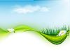 Vector clipart: summer floral