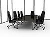 商务会议室 | 光栅插图