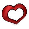 三维心脏 | 光栅插图