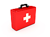 Red medicine chest | Stock Illustration