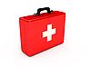 红药箱 | 光栅插图