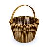Brown basket | Stock Illustration