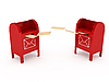 Фото 300 DPI: Металлические почтовые ящики