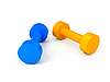Two dumbbells | Stock Illustration