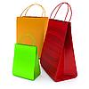 购物袋 | 光栅插图