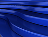 3D蓝色背景 | 光栅插图