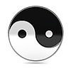 Photo 300 DPI: Yin Yang symbol
