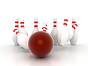 Bowling Pins | Stock Illustration