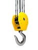 Industrial hook hanging on chain | Stock Illustration