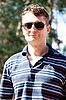 男子带着墨镜 | 免版税照片