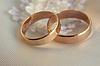 Two wedding rings | Stock Foto