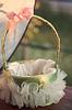 Wedding flower girl`s basket | Stock Foto