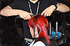Photo 300 DPI: creating hairdress