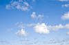 Photo 300 DPI: clouds in the blue sky