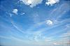 Photo 300 DPI: clouds in the dark blue sky