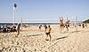 Photo 300 DPI: Beach volleyball on the Riga beach