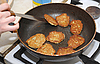 Preparation of potato fritters | Stock Foto