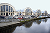 Photo 300 DPI: Riga. Pavilions of the central market