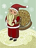 Vector clipart: Santa Claus