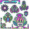 ID 3093116 | Florale Design-Elemente | Stock Vektorgrafik | CLIPARTO
