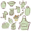 Vector clipart: home icons