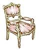 Vector clipart: arm chair