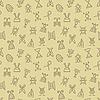 Vektor Cliparts: Abstraktes nahtloses Pattern