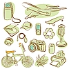 Vector clipart: icons for design (vector)