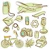 Vektor Cliparts: Symbole für Design (Vektor)