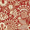 Vector clipart: ornate seamless pattern