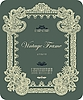 Vector clipart: ornate vintage frame