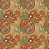 seamless artistic flower pattern