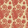 Vektor Cliparts: vintage floral seamless pattern