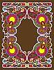 Vector clipart: vintage ornate frame