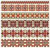 Vector clipart: cross-stitch ethnic Ukraine pattern
