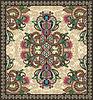 Vector clipart: Ornamental Seamless Carpet Design