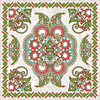 Vektor Cliparts: Traditionelle Ornamental Floral Paisley Bandana