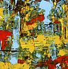 Vektor Cliparts: Kunst Malerei abstrakte Grunge Hintergrund Grafik