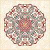 Circle ornament, ornamental round lace  | Stock Vector Graphics