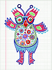Vector clipart: doodle owl