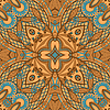 Vector clipart: paisley seamless pattern