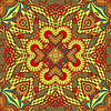 Vector clipart: original retro paisley seamless pattern