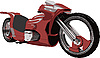 Vector clipart: motorcycle