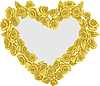 Vector clipart: frame heart