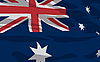 Vector clipart: flag of Australia