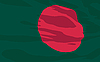 Vector clipart: flag of Bangladesh