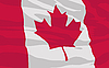 Vector clipart: flag of Canada