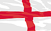 Vector clipart: flag of England