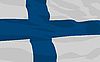 Vector clipart: flag of Finland